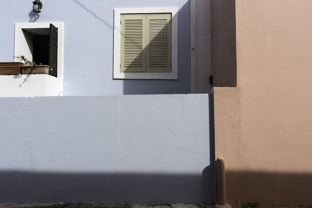 Turquoise Blue Stucco